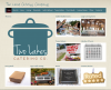 Two Lakes Catering Company, screen shot of website